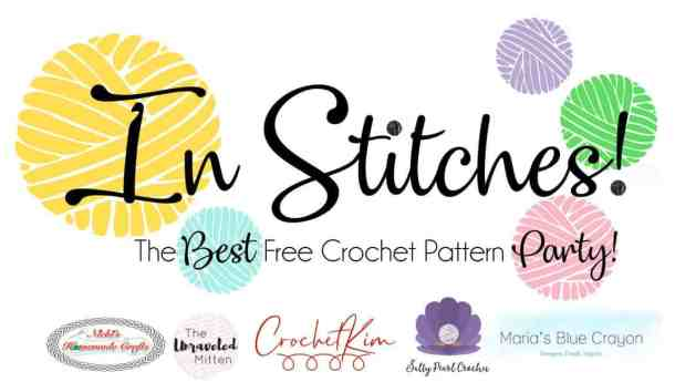 New In Stitches Logo - Nicki's Homemade Crafts, Salty Pearl Crochet, Crochet Kim, Maria's Blue Crayon, The Unravelled Mitten