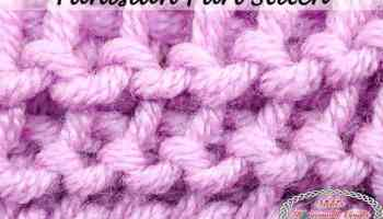 How to Crochet the Bean Stitch - Photo and Video Tutorial
