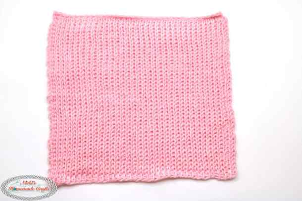 Pink Crochet Bunny from Square - Free Pattern