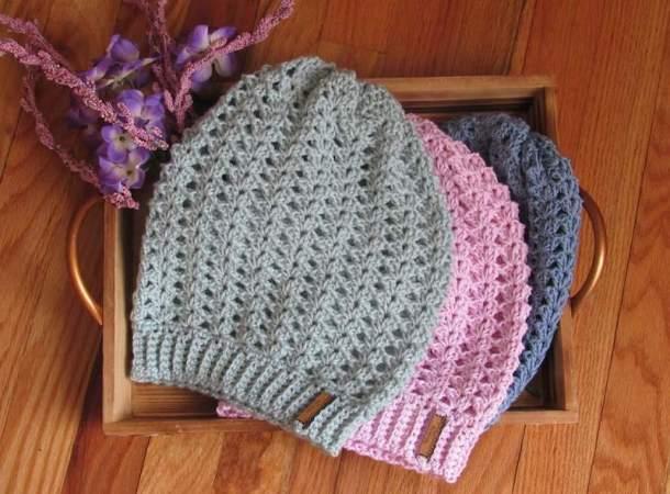 Iris Spring Beanie - Joanna's Crochet