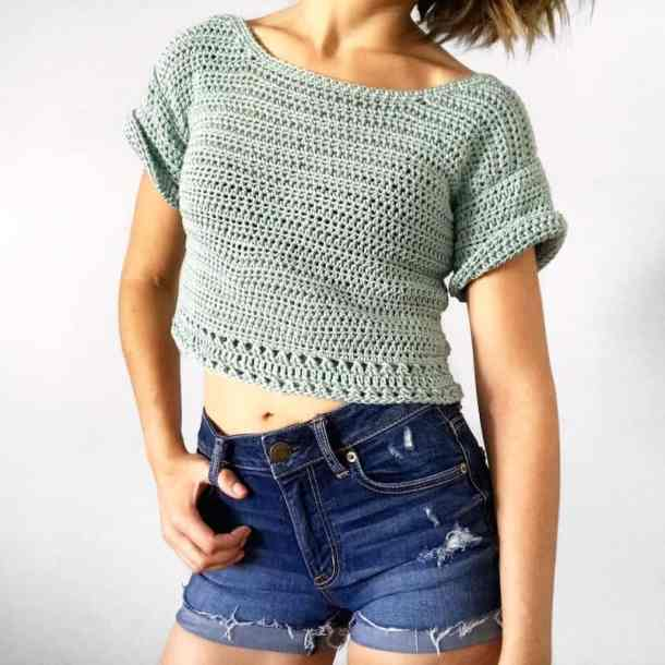Tangled Top - Evelyn and Peter Crochet