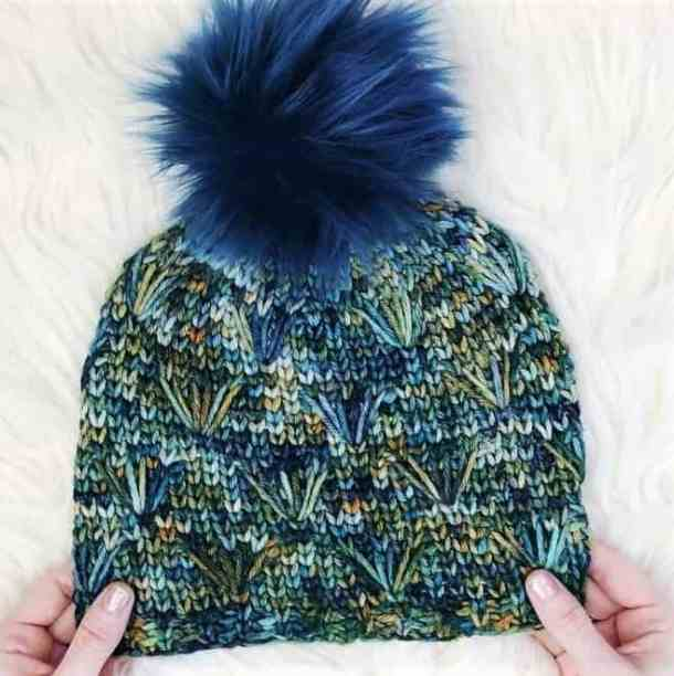 Dandelion Field Beanie - With Alex