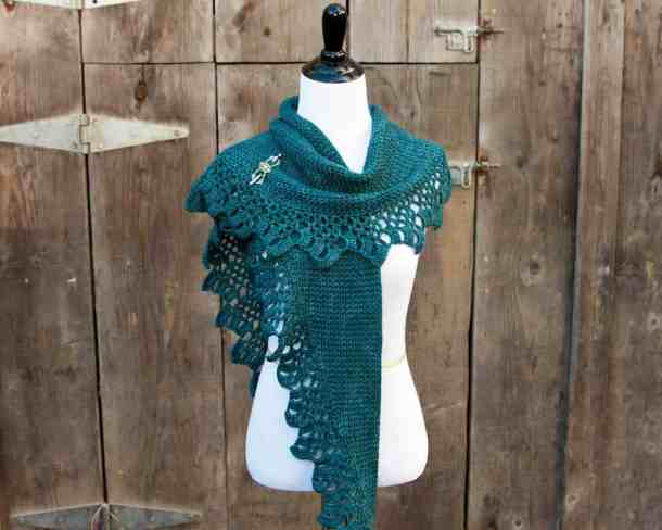 Topelt Shawl - KT and the Squid