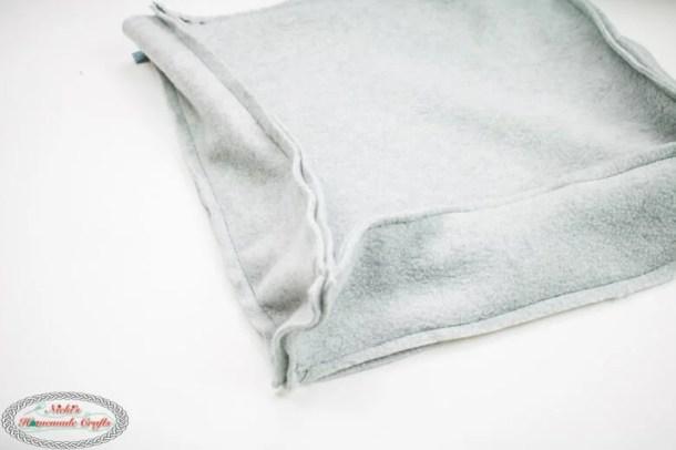 Bobble Basketweave Bag - Free Crochet Pattern Zipper lining