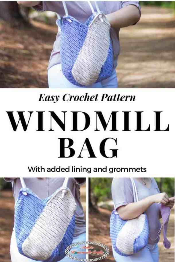 Windmill Bag - Crochet Pattern