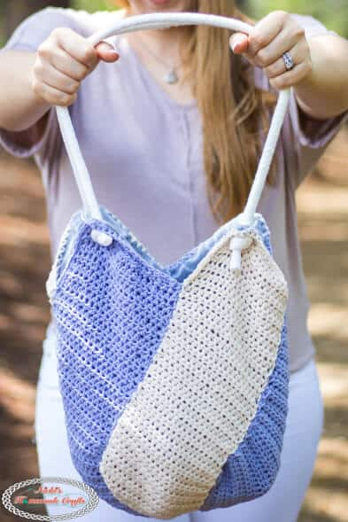 Windmill Bag Crochet Pattern