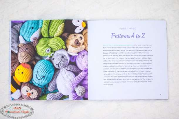 Content of Crochet Cute Critters Book