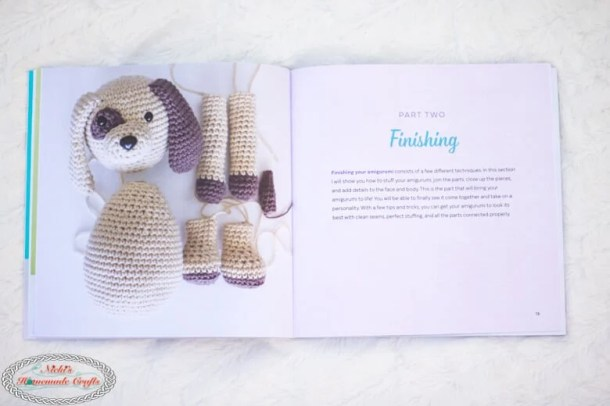 detailed Content of Crochet Cute Critters Book