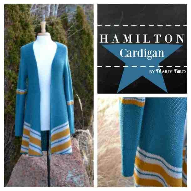 Hamilton Cardigan Crochet Pattern