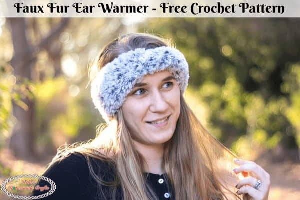 Faux Fur Ear Warmer Crochet Pattern Free
