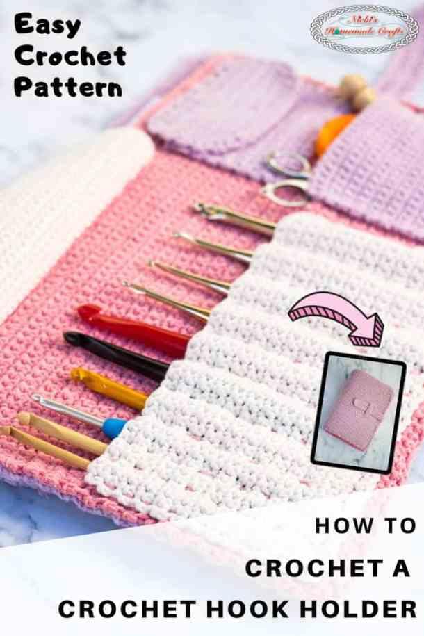 Crochet Hook Holder Pattern