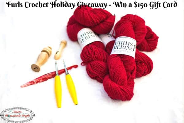 Furls Crochet Holiday Giveaway - $150 Gift Card