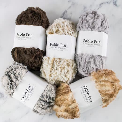 WeCrochet Fable Fur