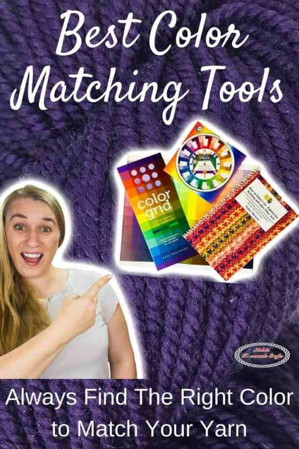 Best Color Matching Tools by WeCrochet plus Crochet Patterns