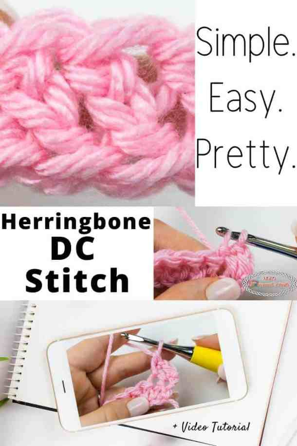 Herringbone Double Crochet