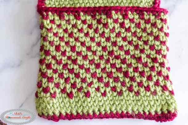 Waistcoat Stitch Pouch