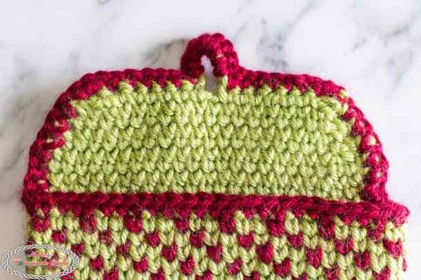 Waistcoat Stitch flat Pouch