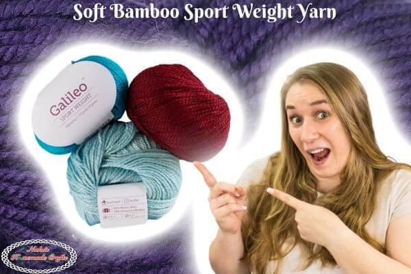 Soft Bamboo Sport weight Yarn