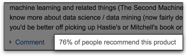 percentage-of-people-who-recommend-product