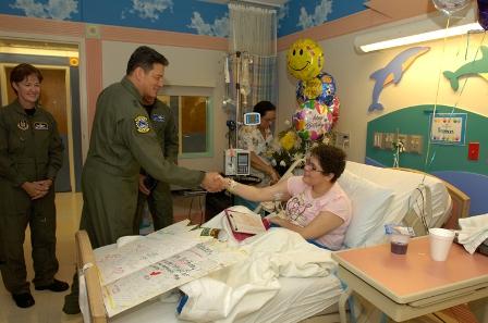 Major General Frank J. Padilla Visits Miami Children's ...
