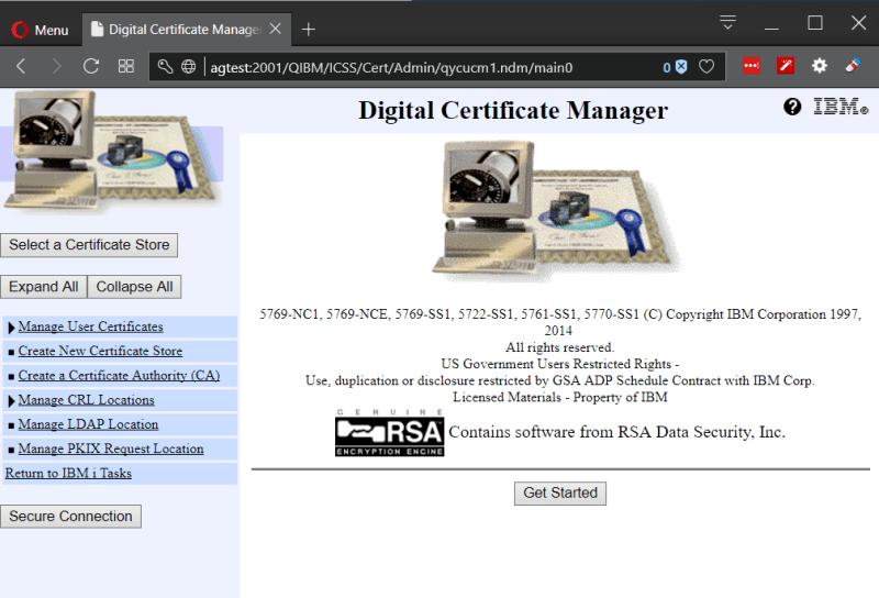 IBM i DCM