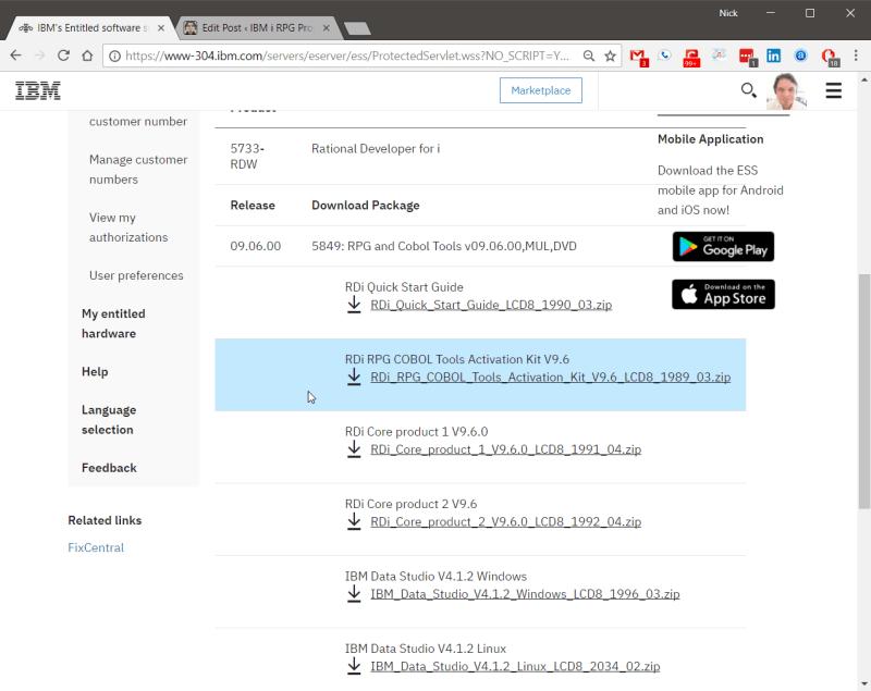 Rational Developer for IBM i 9.6 - Apply the RDi License 7