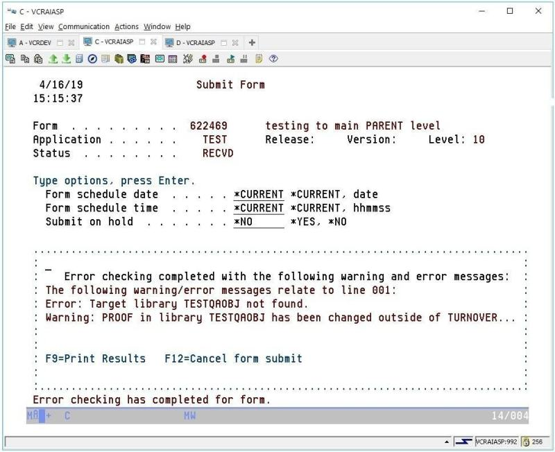 Using TURNOVER in an IBM i iASP Environment 5