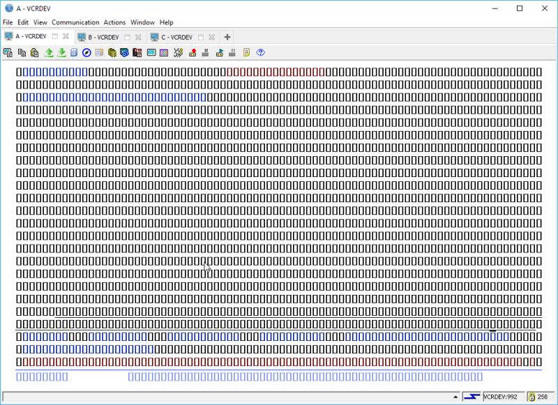 IBM i ACS 5250 EMULATOR FONT - and other ridiculous mumbo jumbo 22