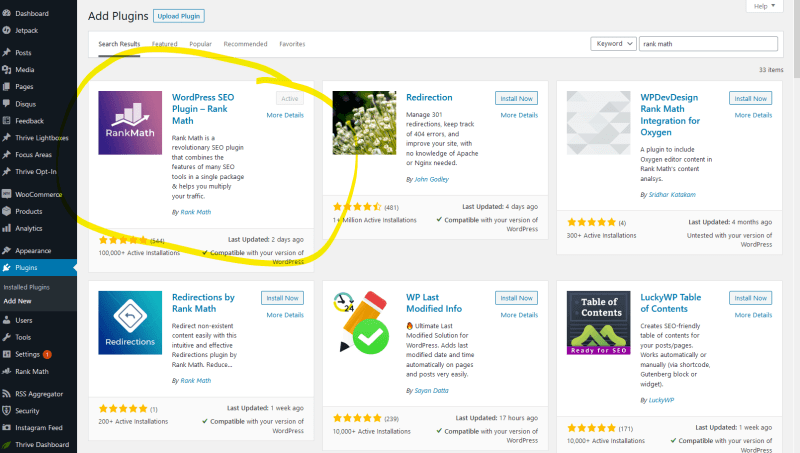 How to upgrade from YOAST to Rank Math SEO 1