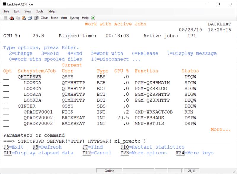 How to rename Fresche (BCD) Presto Library - XL_PRESTO 6