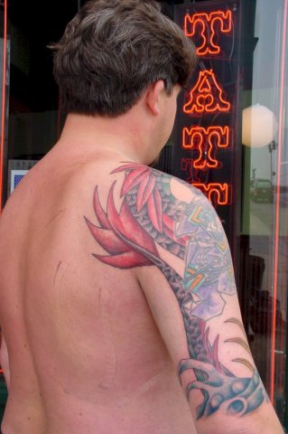 phase II tattoo completed rear 2002