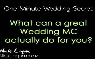 Why Use a Professional Wedding MC?
