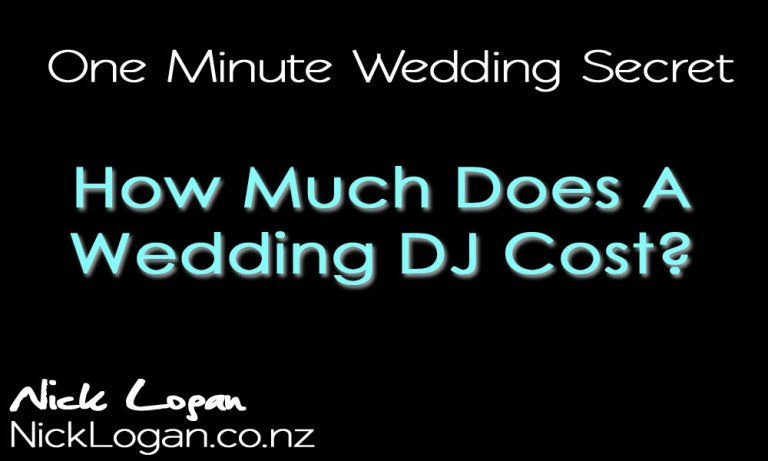 """Before you ask """"How much does a Wedding DJ cost?"""""""