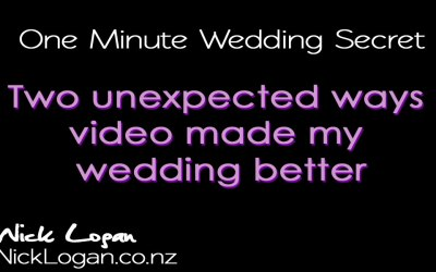 Find out why wedding video is so important.