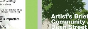 Community arts exhibition design
