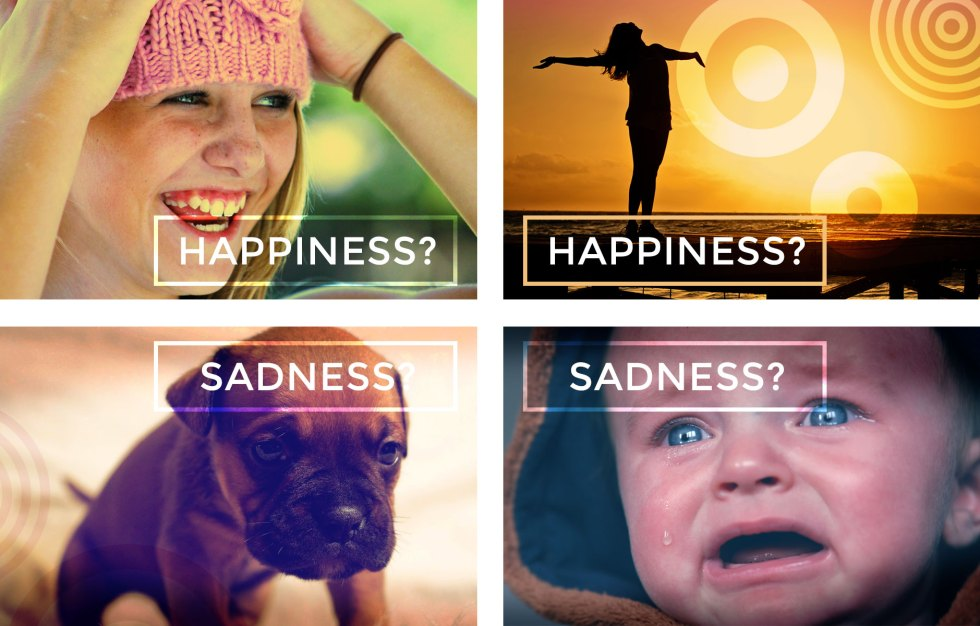 Happiness and Sadness Indexical Images