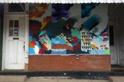 Cherokee murals