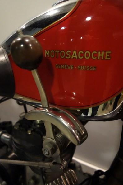 Motosacoche shifter