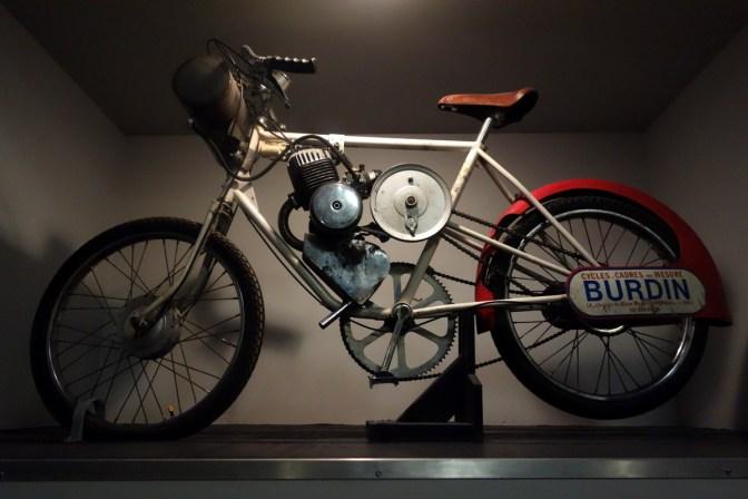 Derny 1950 Bordeaux-Paris 125 cc from France