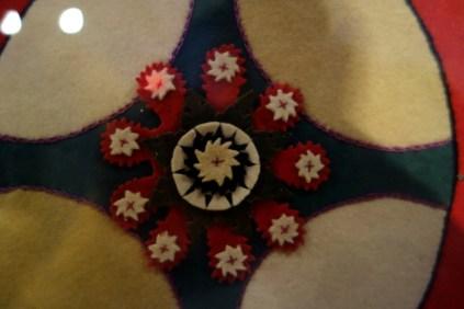 felt cutout rug