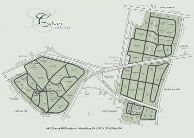 Calvary-Cemetery-Map