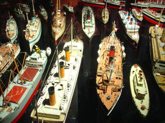 model ships collection