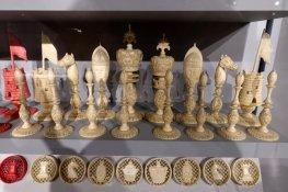 Burmese Style Ivory Set, 1810