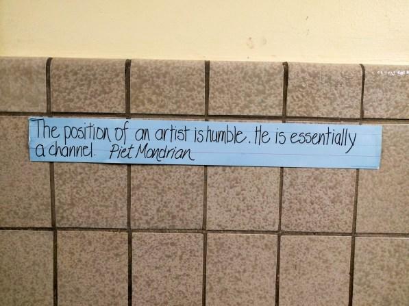 Mondrian quote