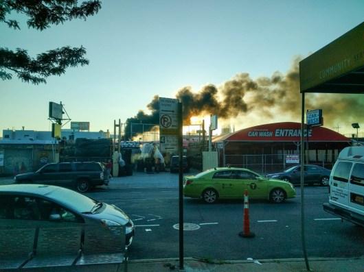 that woodshop fire in LIC