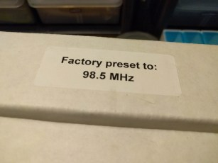 preset you say? 98.5 MHz you say!