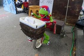 Kermit candy trike