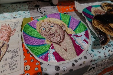 Rick Flair embroidery - WANT!