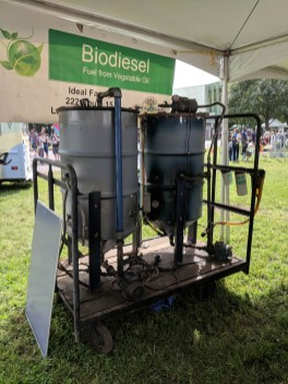 Biodiesel Fuel from Vegetable Oil