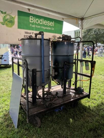 Biodiesel Fuel from Vegetable Oil